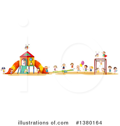 Teeter Totter Clipart #1380164 by Graphics RF