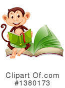 Monkey Clipart #1380173 by Graphics RF