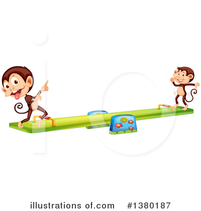 Teeter Totter Clipart #1380187 by Graphics RF