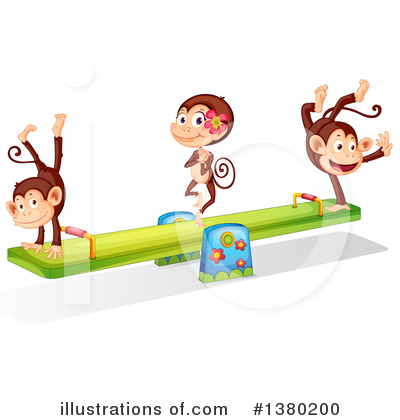Teeter Totter Clipart #1380200 by Graphics RF