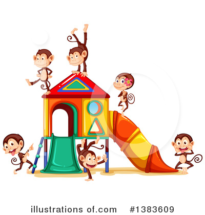 Playground Clipart #1383609 by Graphics RF