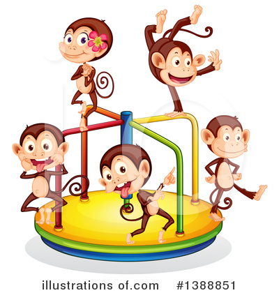 Carousel Clipart #1388851 by Graphics RF