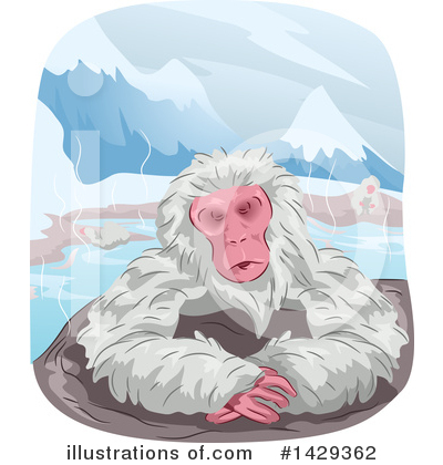 Monkey Clipart #1429362 by BNP Design Studio