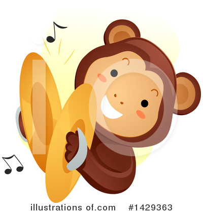 Monkey Clipart #1429363 by BNP Design Studio