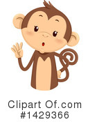 Royalty-Free (RF) Monkey Clipart Illustration #1429366