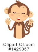 Monkey Clipart #1429367 by BNP Design Studio