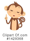 Royalty-Free (RF) Monkey Clipart Illustration #1429368