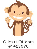 Monkey Clipart #1429370 by BNP Design Studio