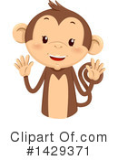 Royalty-Free (RF) Monkey Clipart Illustration #1429371