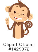 Monkey Clipart #1429372 by BNP Design Studio