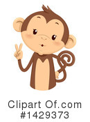 Monkey Clipart #1429373 by BNP Design Studio
