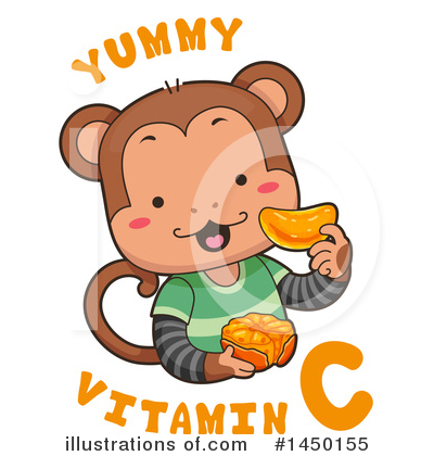 Monkey Clipart #1450155 by BNP Design Studio