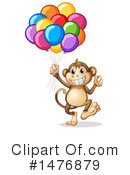 Monkey Clipart #1476879 by Graphics RF
