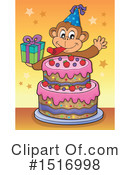 Monkey Clipart #1516998 by visekart