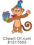 Monkey Clipart #1517003 by visekart
