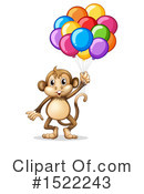 Monkey Clipart #1522243 by Graphics RF