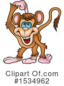 Monkey Clipart #1534962 by dero