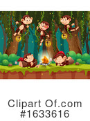 Monkey Clipart #1633616 by Graphics RF