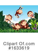 Monkey Clipart #1633619 by Graphics RF