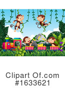 Monkey Clipart #1633621 by Graphics RF