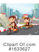 Monkey Clipart #1633627 by Graphics RF