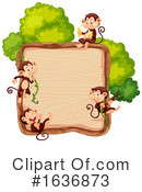 Monkey Clipart #1636873 by Graphics RF