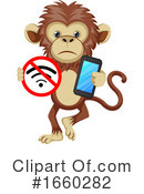 Monkey Clipart #1660282 by Morphart Creations