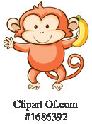 Monkey Clipart #1686392 by Graphics RF