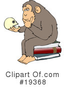 Royalty-Free (RF) Monkey Clipart Illustration #19368