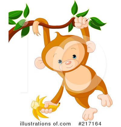 Primate Clipart #217164 by Pushkin