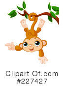 Royalty-Free (RF) Monkey Clipart Illustration #227427