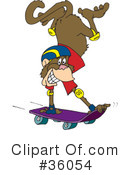 Monkey Clipart #36054 by Dennis Holmes Designs
