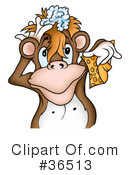 Monkey Clipart #36513 by dero