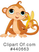 Royalty-Free (RF) Monkey Clipart Illustration #440663