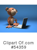 Monkey Clipart #54359 by Julos