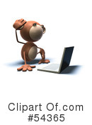 Monkey Clipart #54365 by Julos
