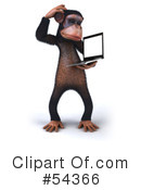 Monkey Clipart #54366 by Julos