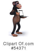 Monkey Clipart #54371 by Julos