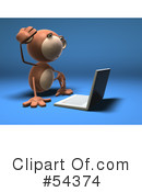 Monkey Clipart #54374 by Julos