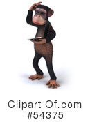 Monkey Clipart #54375 by Julos