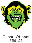 Monkey Clipart #59126 by Andy Nortnik