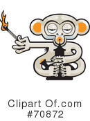 Royalty-Free (RF) Monkey Clipart Illustration #70872