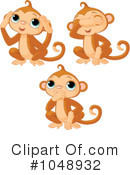 Monkeys Clipart #1048932