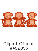 Monkeys Clipart #432895