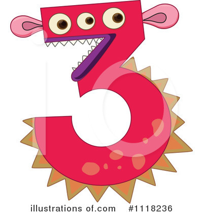 Number Clipart #1118236 by Graphics RF