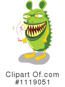 Monster Clipart #1119051 by Graphics RF