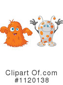 Royalty-Free (RF) Monster Clipart Illustration #1120138