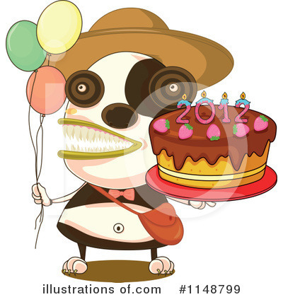 Birthday Cake Clipart #1148799 by Graphics RF