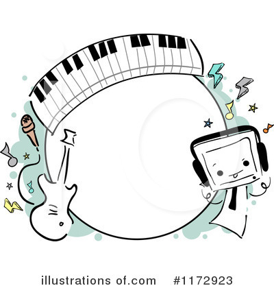 Music Band Clipart #1172923 by BNP Design Studio