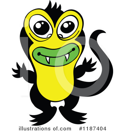 Monster Clipart #1187404 by Zooco